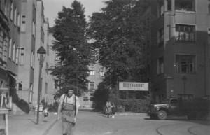 Wöhlertgarten in den 50er Jahren ©  Ingrid Bläsing