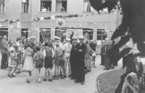Hoffest Anfang der 50er Jahre ©  Ingrid Bläsing